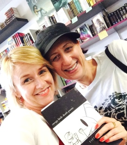 Beth Accomando and me